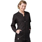 006e7202 EON Women's COOLMAX® Mesh Panel Solid Scrub Jacket. Product Variants  Selector. Black
