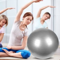 Zimtown 55cm / 65cm / 75cm / 85cm Anti-Burst Exercise Yoga Balance Ball - Fitness Stability Training Ball with Air Pump for Pilates Workouts Weight Loss, Home Gym