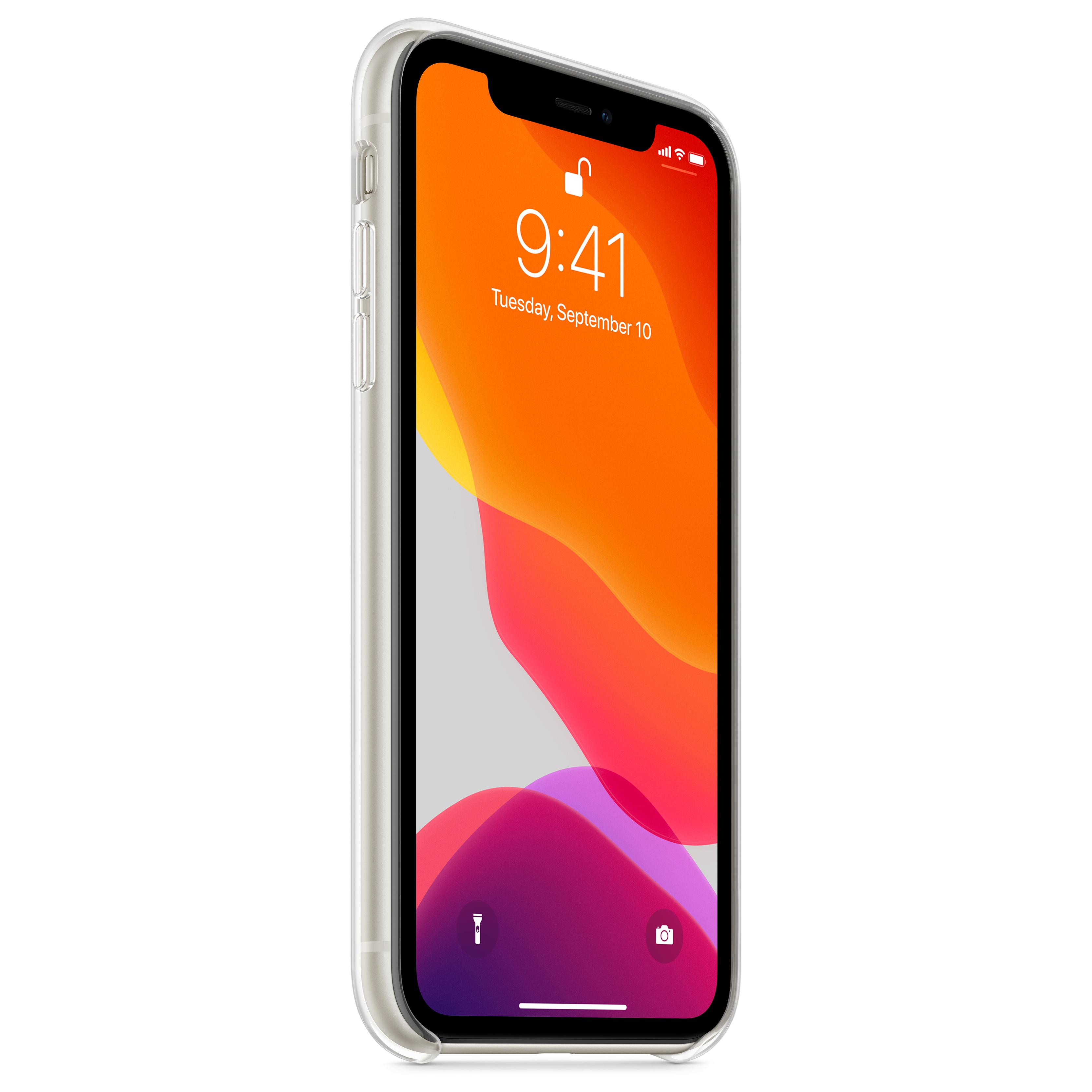 Transparent X iPhone Case
