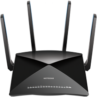 NETGEAR Nighthawk X10 AD7200 Plex Tri Band Smart WiFi Router (R9000-100NAS)