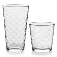 Libbey Awa 16-Piece Tumblers and Rocks Glass Set