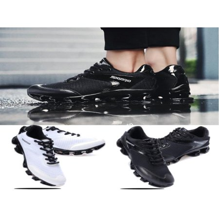Men Running Shoes Outdoor Breathable Jogging Sport Blade Krasovki Walk Sneakers ()