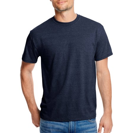 Hanes Men's x-temp with fresh iq short sleeve t-shirt Cock Ash Grey T-shirt
