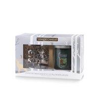 Yankee Candle Snowflake Tumbler Gift Set, Balsam & Cedar