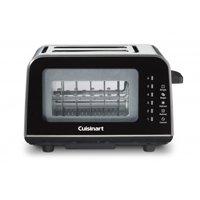 Cuisinart ViewPro Glass 2-Slice Toaster, Black