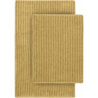 Sheridan Nylon 2-Piece Washable Bathroom Rug Set