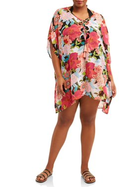Women's Plus This Is Us Chiffon Cover-Up