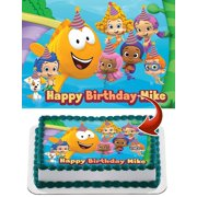 Bubble Guppies Personalized Cake Topper Icing Sugar Paper A4 Sheet Edible Frosting Photo Birthday