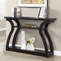 "Monarch Accent Table 47""L / Cappuccino Hall Console"