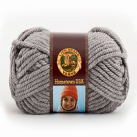 Lion Brand Hometown USA Yarn: Dallas Grey