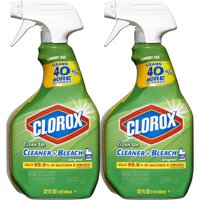 Clorox Clean-Up All Purpose Cleaner with Bleach, Spray Bottle, Original, 32 oz, Twin Pack