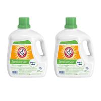 Arm & Hammer Sensitive Skin Free & Clear Liquid Laundry Detergent, 160.5 fl oz