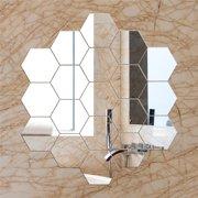 Self Stick Mirror Tiles