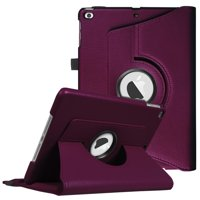 Fintie iPad 6th / 5th Gen, iPad Air /Air 2 Case - 360 Degree Rotating Stand Cover with Auto Sleep Wake, Purple