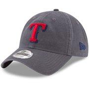 716a35fe007 Texas Rangers New Era Primary Logo Core Classic 9TWENTY Adjustable Hat -  Graphite - OSFA