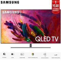 """Samsung QN55Q7F QN55Q7 55Q7 55Q7F 55"""" Q7FN Smart 4K Ultra HD QLED TV (2018) (QN55Q7FNAFXZA) with 2x 6ft High Speed HDMI Cable + Universal Screen Cleaner for LED TVs"""