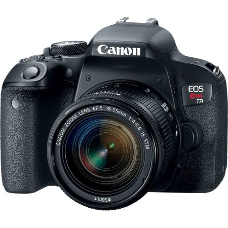Canon EOS Rebel T7i DSLR Camera with 18-55mm Lens (Best Price On Canon Eos Rebel T3i)