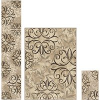 Better Homes and Gardens Iron Fleur 3-Piece Area Rug Set