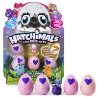 Hatchimals CollEGGtibles Season 2, 4 Pack + Bonus (Styles & Colors May Vary) by Spin Master