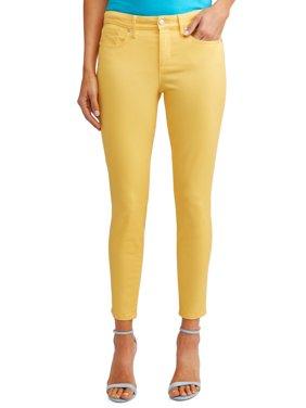 Sofía Skinny Mid Rise Stretch Ankle Twill Jean Women's (Mustard)