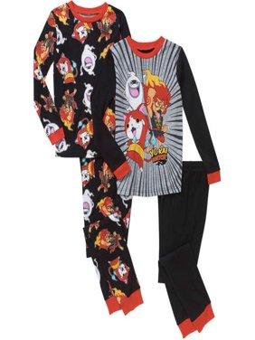 Boys Licensed Cotton Sleep Pajama 4 Pc S