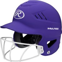 Rawllings Coolflo Highlighter Series Matte Style Softball Batting Helmet