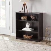 Mainstays 31 3 Shelf Standard Bookcase Espresso