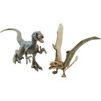 """Jurassic World 2-Pack Dino #1 Velociraptor """"Blue"""" & Dimorphodon"""