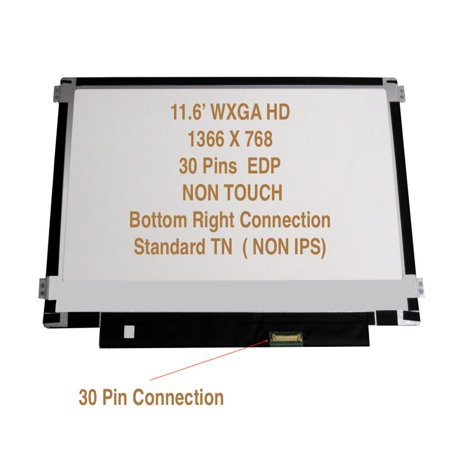 Acer Chromebook C720 New 11.6' WXGA HD LED LCD Replacement Screen 30PIN MATTE Fits: C720-22848, C720-2103, C720-2420, C720-2800, C720-2802, -