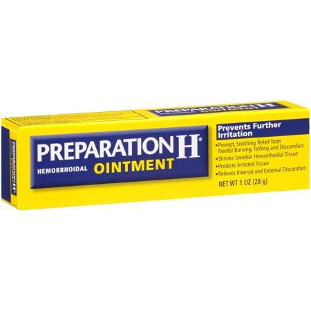 Preparation H Hemorrhoid Symptom Treatment Ointment 10 Ounce