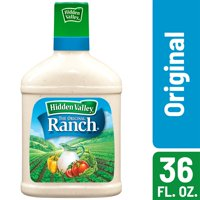 Hidden Valley Original Ranch Salad Dressing & Topping, Gluten Free - 36 oz Bottle