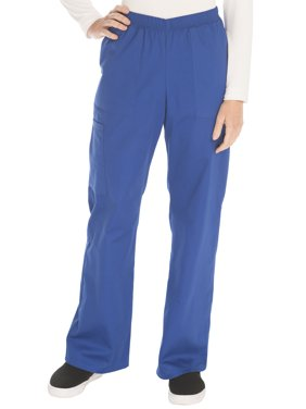 Scrubstar Women's Core Essentials Mechanical Stretch Pull On Scrub Pant