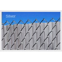 Gray 4ft Ridged Slat for Chain Link Fence