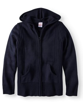Girls School Uniform Hooded Sweater