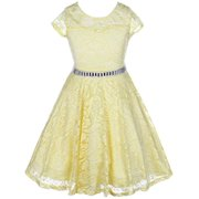 821ee4ebc Girls  Yellow Dresses