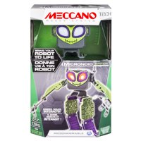 Meccano by Erector, Micronoid Green Switch, Programmable Robot Building Kit