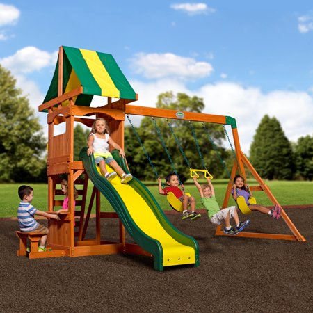 Backyard Discovery Weston Cedar Swing Set ()