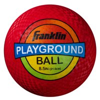 "Franklin Sports 8.5"" Inflated Playground Ball, Colors May Vary"