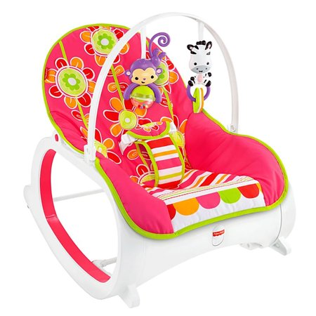 Fisher-Price Infant-To-Toddler Rocker, Floral Confetti](Rocker Girls)