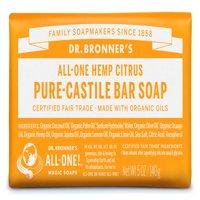 (3 pack) Dr. Bronner's Citrus Orange Bar Soap