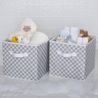 Delta Children 2 Deluxe Water-Resistant Storage Cubes