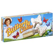 Little Debbie Family Pack Butterfly Cakes Vanilla Snack Cakes, 10.74 oz