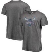 70273b555 Charlotte Hornets Fanatics Branded Shadow Washed Logo T-Shirt - Black