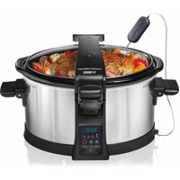 Hamilton Beach Set and Forget Programmable 6 Quart Slow Cooker | Model# 33464