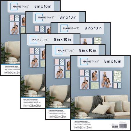 Mainstays 8x10 Format Picture Frame Set Of 6 Walmartcom