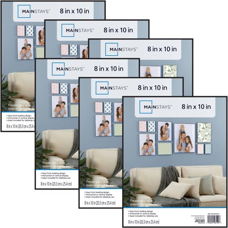 Mainstays 8x10 Format Picture Frame, Set of 6 (Holiday Photo Frames)