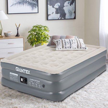 Giantex Queen Size Luxury Raised Air Mattress Inflatable