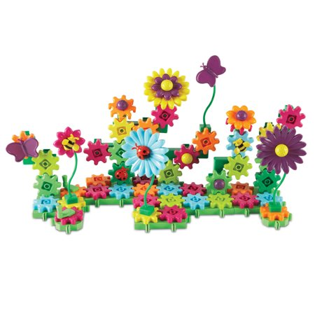 Learning Resources Gears! Gears! Gears! Build And Bloom Flower Garden Set