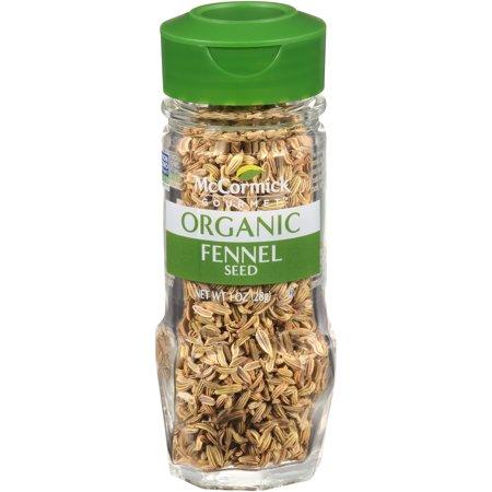 McCormick Gourmet Organic Fennel Seed, 1 oz
