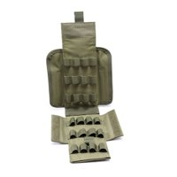 Sweetsmile Tactical Military Molle Bags 25 Round Shells Shotgun Ammo Waist Pouch Holder
